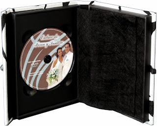 Caja para 2 CD o DVD abierto