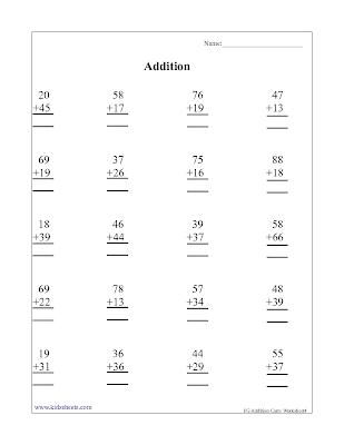 Kids Maths Worksheets, Maths Worksheets, First Grade Addition, Addition, First Grade, Kids Addition Sheets