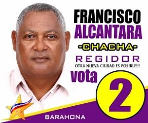 FRANCISCO ALCANTARA - CHACHA- REGIDOR