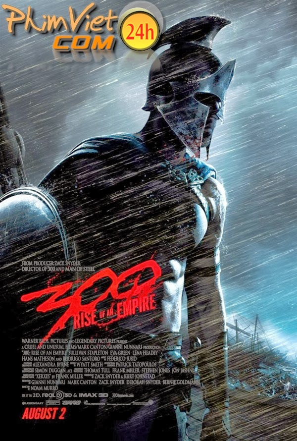 xem phim 300 Chiến Binh 2 - 300: Rise of an Empire 2014 full hd vietsub online poster