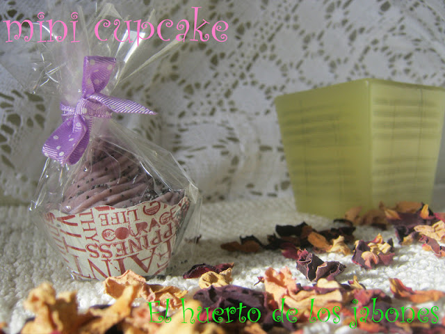cupcake con packaging
