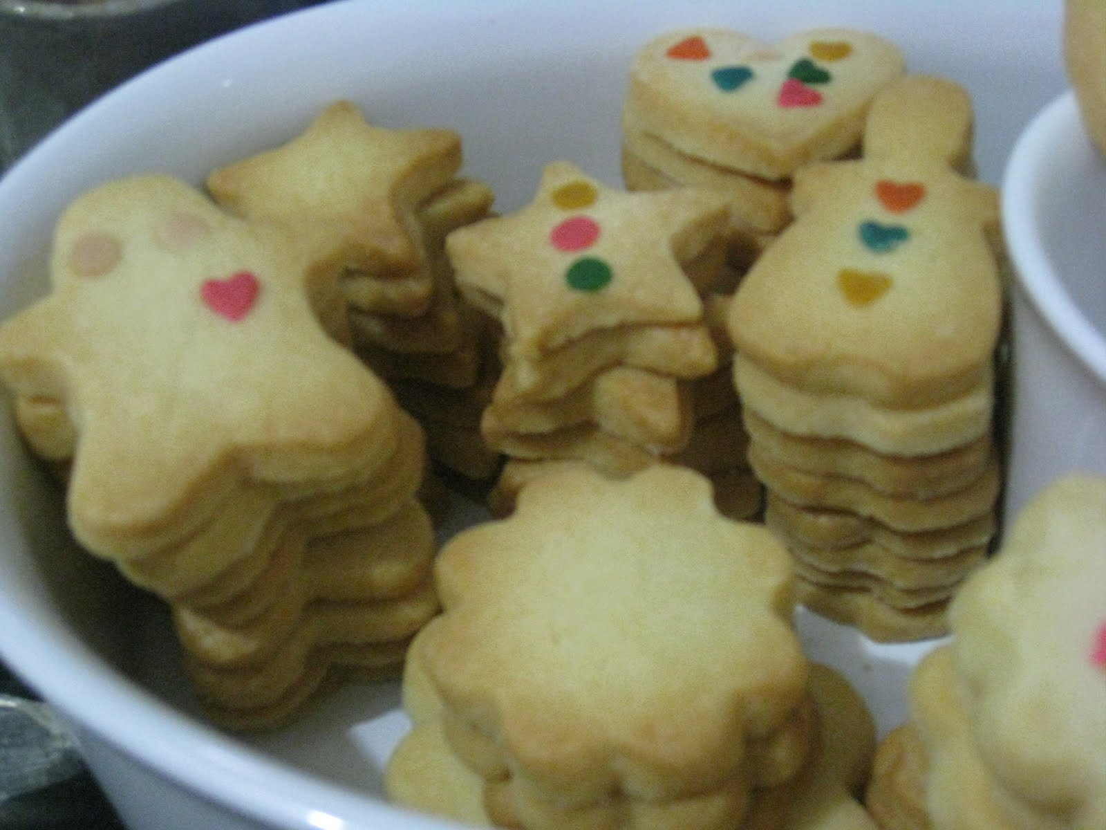 Shortbread cookies II