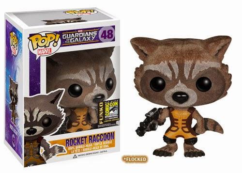 Funko Pop! Rocket Racoon Flocked