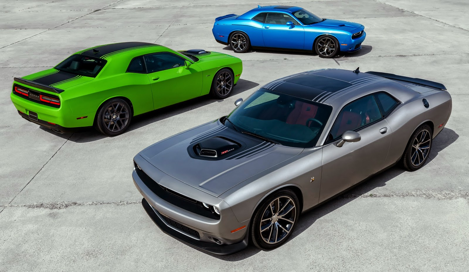 New 2015 Dodge Challenger Now Offers 485 Best In Class Horsepower, All New  R/T Scat Pack And 392 HEMI® Scat Pack Shaker Models, All New Interior And  ...