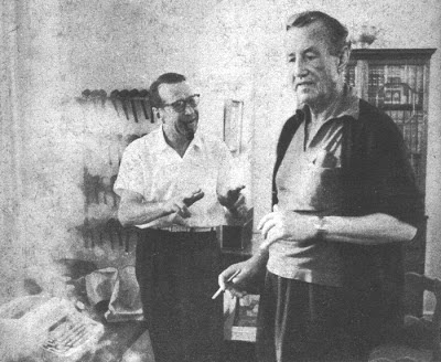 Ian Fleming y Georges Simenon