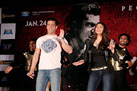 Salman Khan & Daisy snapped promoting their film 'Jai Ho'