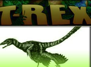 Shaggy T. Rex Dinosaur