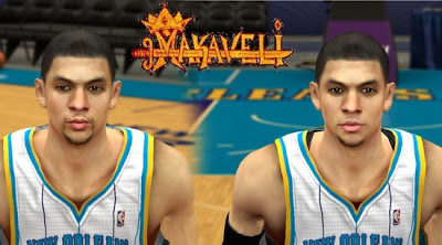 NBA 2K13 Austin Rivers Cyber Face Patches