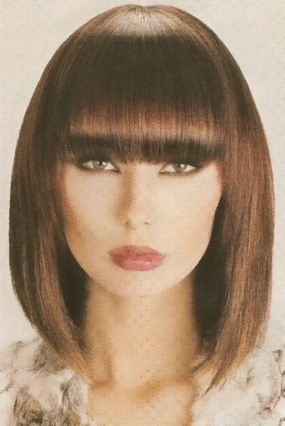 Different Style Haircuts : ... with Colored Bangs Hairstyles. on different bang styles for short hair