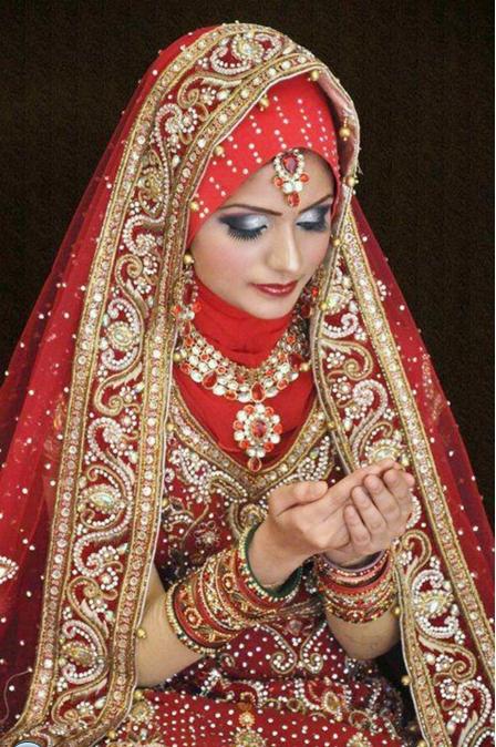 Muslim Bridal Hijab