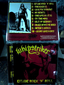 WHIPSTRIKER''crude rock'n'roll''