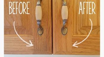 Πως να καθαρίσετε τα ντουλάπια της κουζίνας σας!
