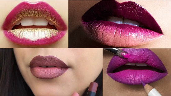 ombre lips degrade