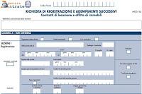 Come presentare il modello RLI per contratti di affitto