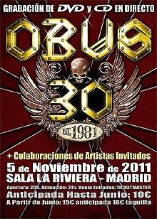 Queda poco para el histórico concierto de Obús en Madrid