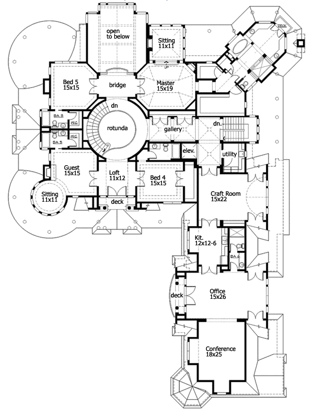 Here is a newport style house plan complete with about 10 275 square feet  of living space  5 bedrooms  and 6 bathrooms  Designed with a finished  walk out. Mansions   More  October 2012