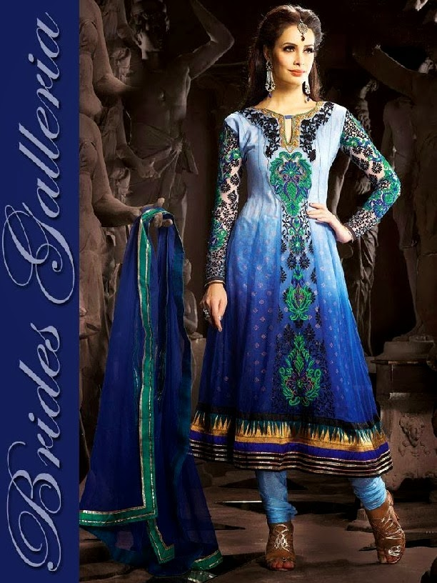 Embroidered Ready-made Suits For Punjabi Girls