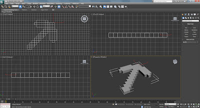 Autodesk 3ds Max Minecraft Pick Axe