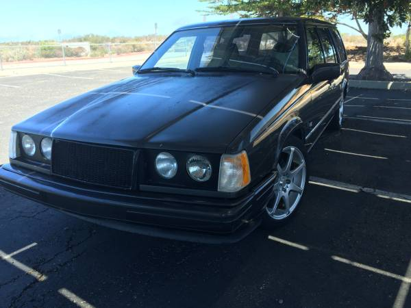Daily Turismo: Murdered Out Mustang Motor Mom-Mobile: 1993 ...