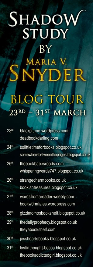 Maria V Snyder - Blog Tour
