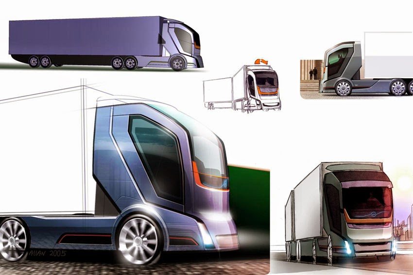 Volvo Trucks Launches Truck Of The Future 2050 Design Compeion Wheelsology World Wheels