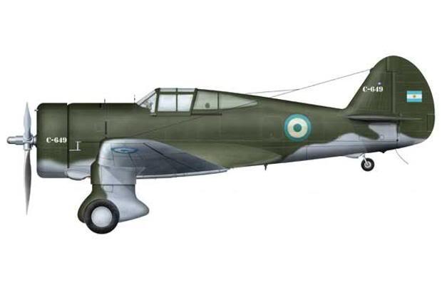 FDRA - Fuerza Aérea: Argentina: Curtiss-Wright Hawk 75 en la Fuerza ...
