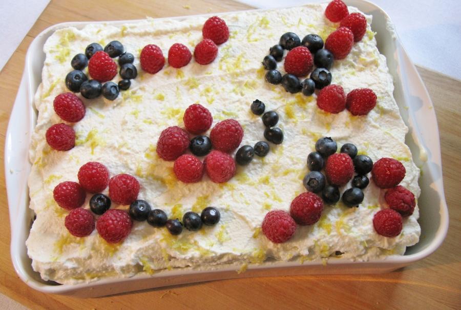 old fashioned lemon blueberry icebox cake old fashioned lemon ...