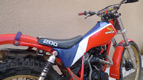 Honda 200 TLR