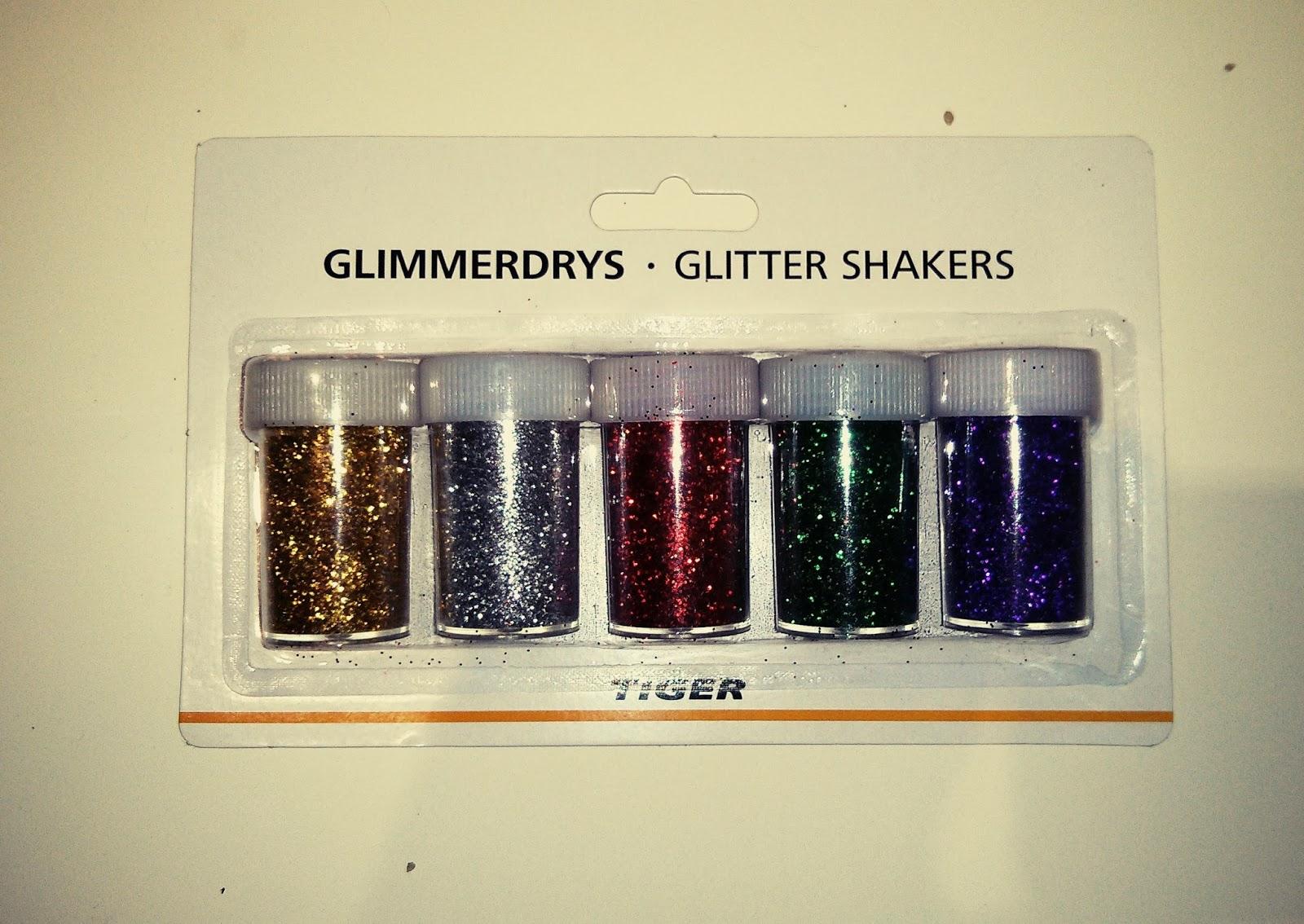 Pack de purpurinas de colores de Tiger Stores