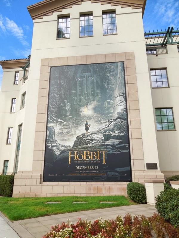 Hobbit 2 Desolation of Smaug movie billboard