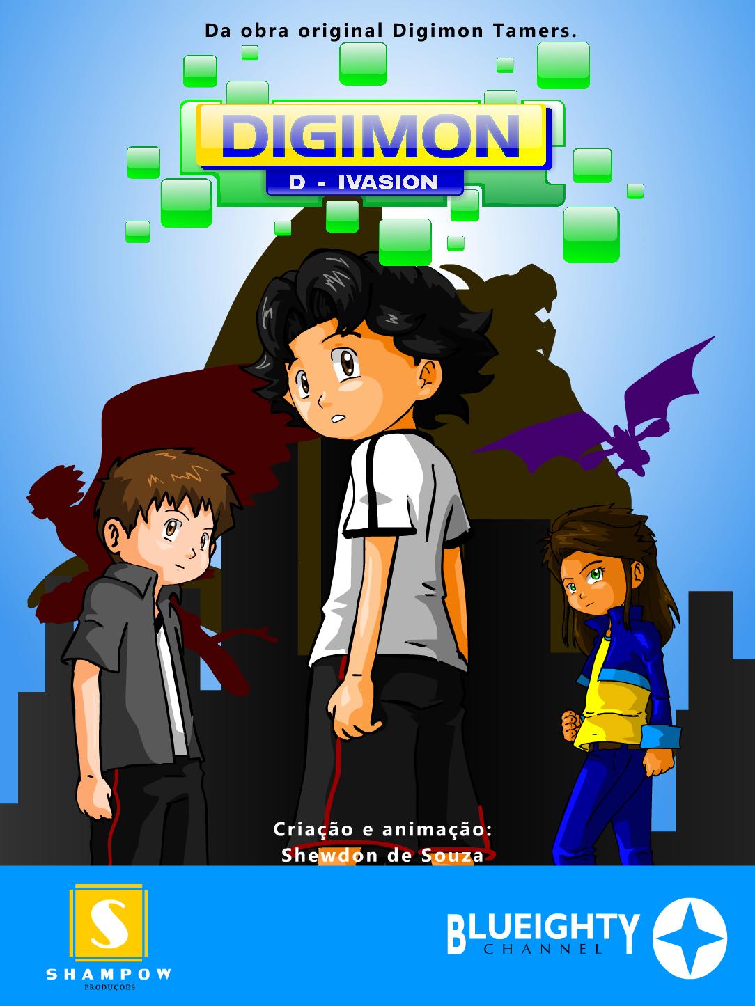 Digimon D-invasion novas imagens e preview do episódio 4 Poster+d-i