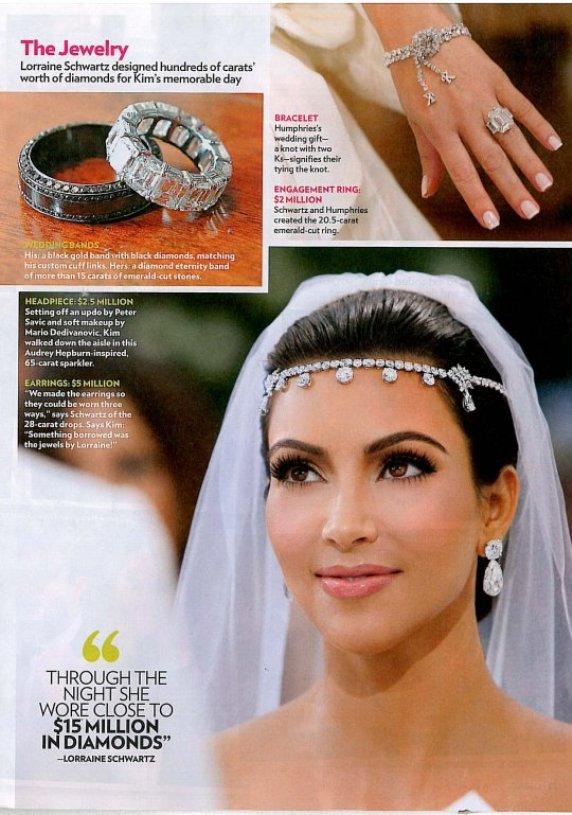 Kim Kardashian Kris Humphries Wedding