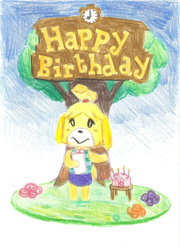 Mog Anarchys Gaming Blog Ashs Birthday Cards Animal Crossing
