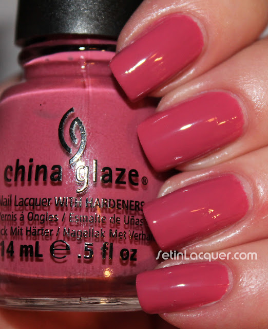 China Glaze Life is Rosy