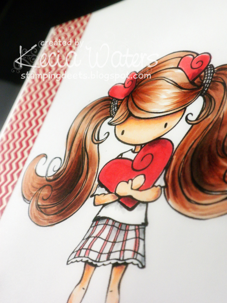 Tiddly Inks, Kecia Waters, Copic markers, Valentine's Day