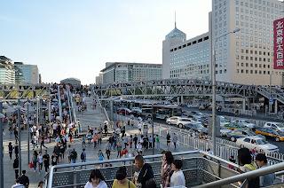 Xidan Street pedestrian bridge in Beijing