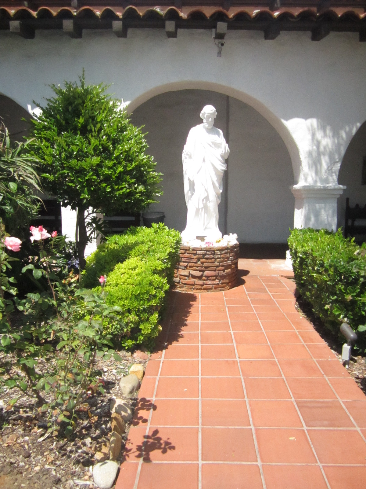 Ciao Newport Beach The Mission San Diego De Alcala Gardens