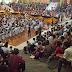 Ribuan Massa HTI Kalimantan Selatan Serukan Ganti Demokrasi dengan Khilafah