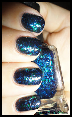 Deborah lippmann across the universe swatches and review