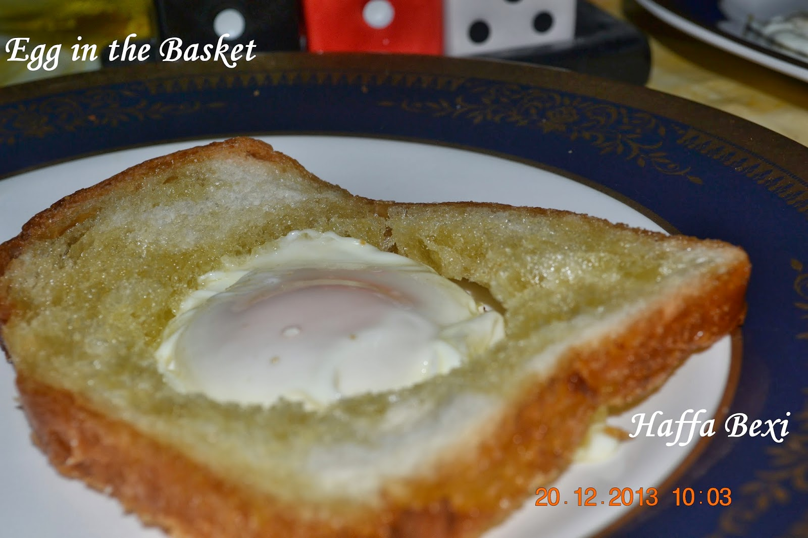 egg in the basket