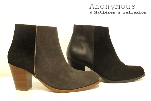 Boots bicolores Anonymous