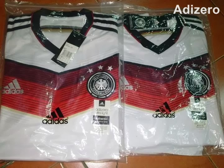 Jersey Bola Grade Ori  Adizero Official World Cup 2014