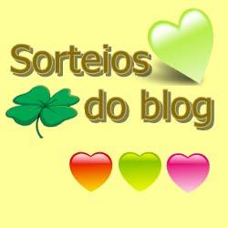 Sorteios do blog