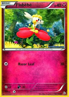 Flabebe #63/106 Flashfire Pokemon Card