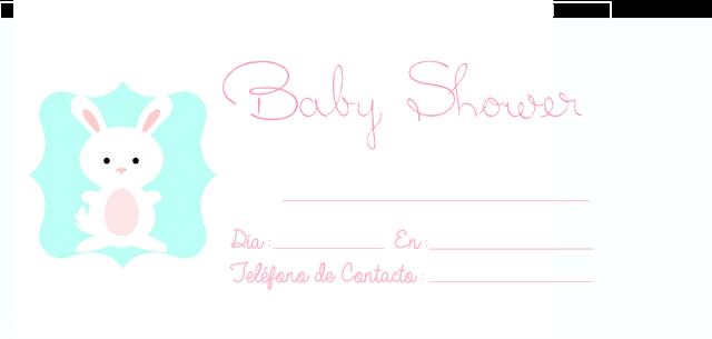 Tarjetas de invitaciones baby shower