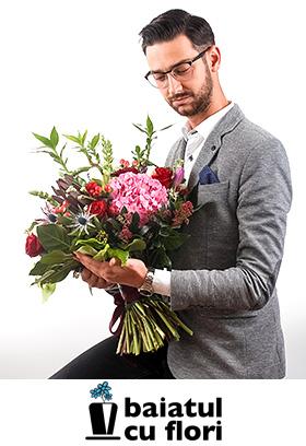 Oferă-i flori chiar și atunci când n-ai greșit ;)
