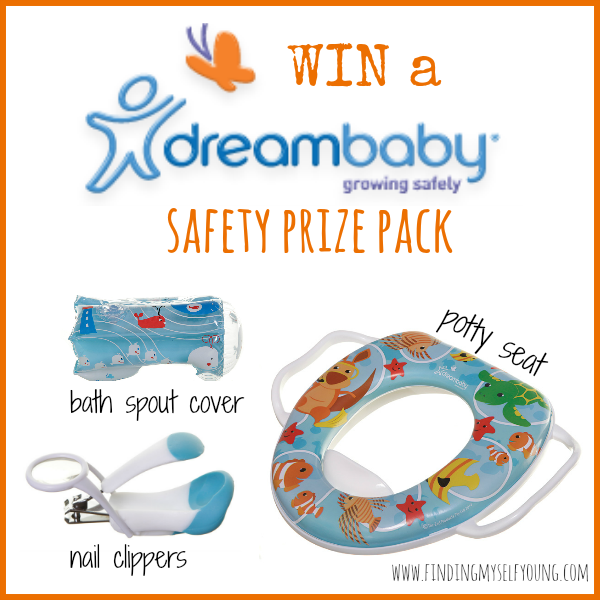 finding myself young dreambaby safety products giveaway