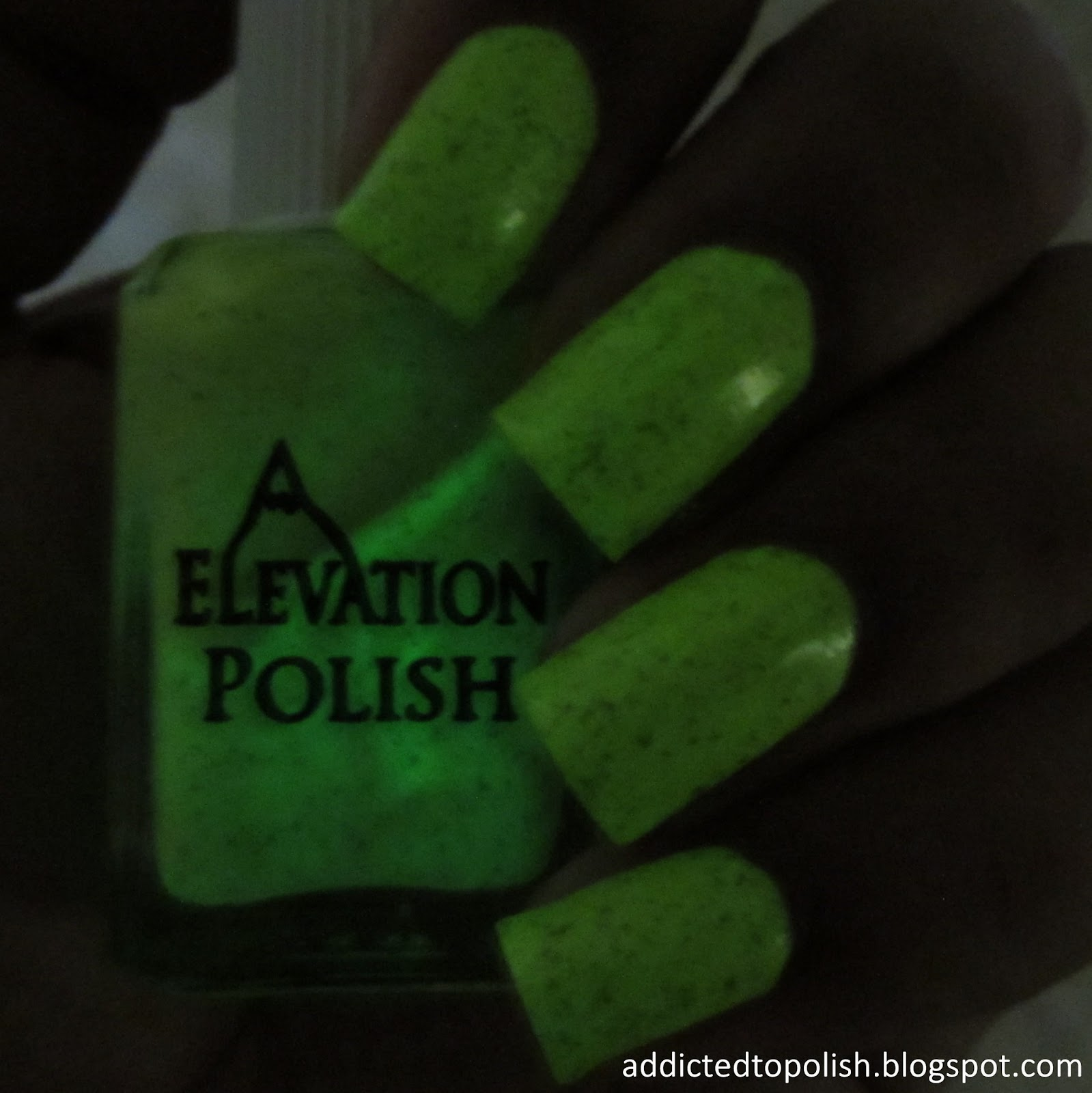 elevation polish icho namiki glow in the dark