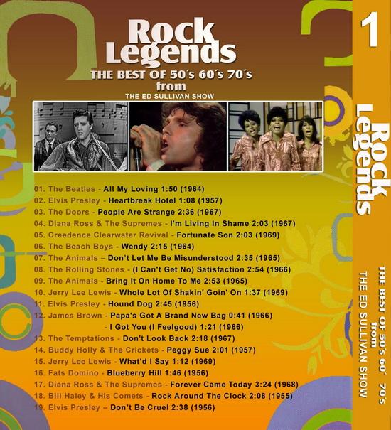 Rock Legends Show 01 ... 45 minutos