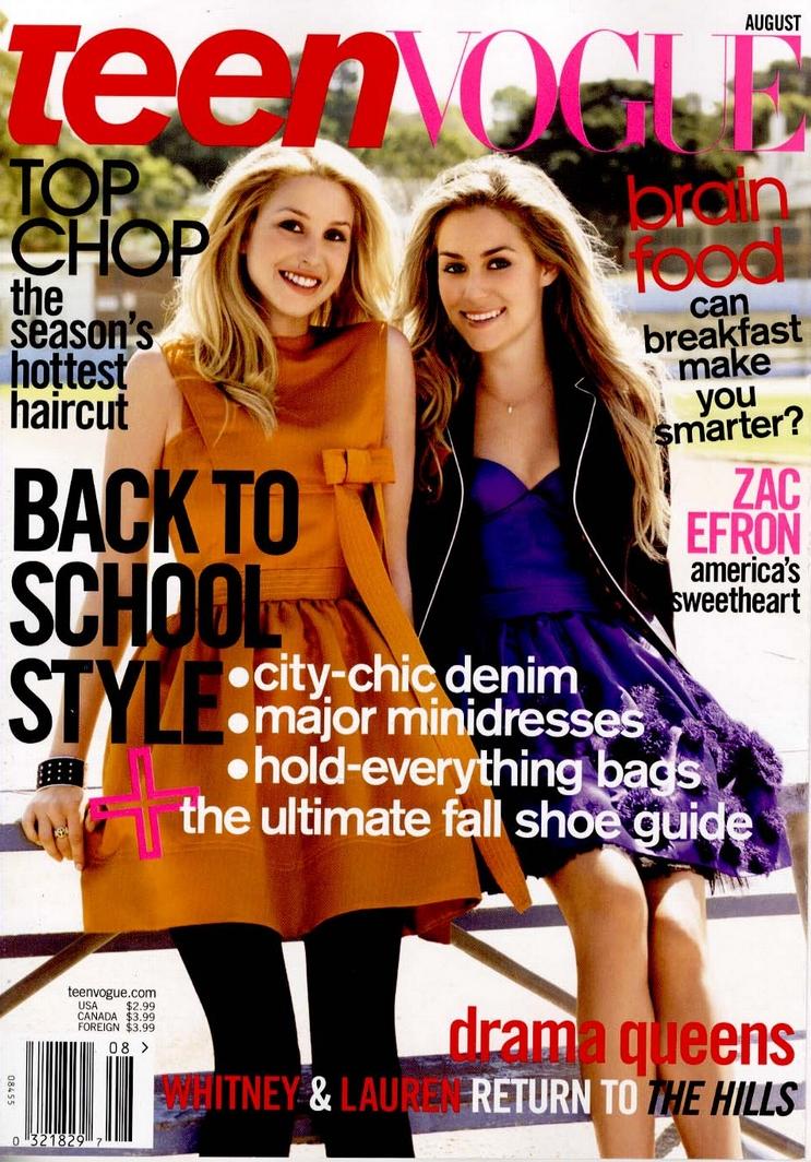 Jednak nie pogardzę typowymi czasopismami dla nastolatek, typu Dziewczyna ...
